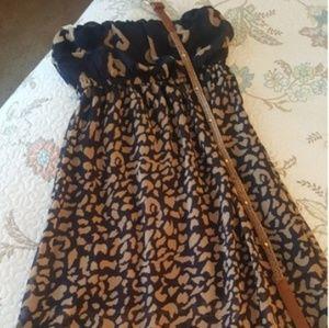 Ya Los Angeles tube maxi dress